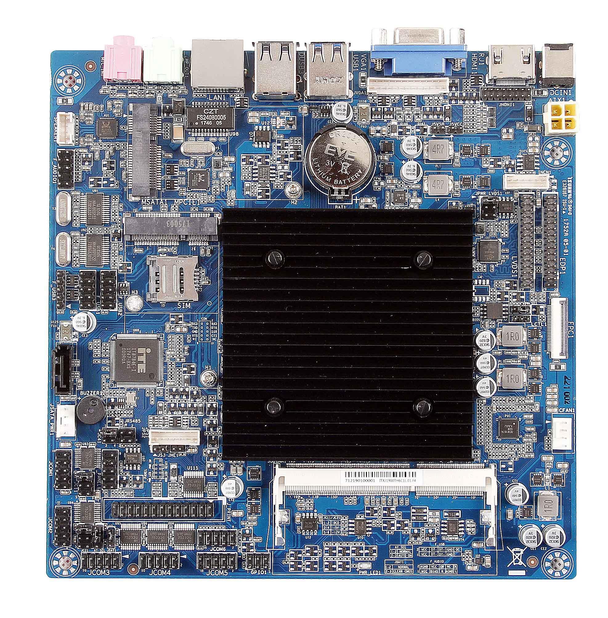 ITX-J1900TH-6C1L